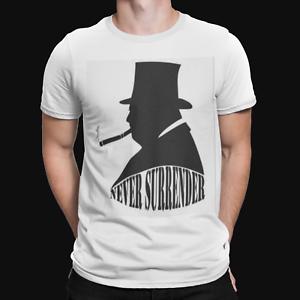 Churchill renoncerait jamais T-shirt vies ont une importance historique Tee Cadeau Rétro Guerre 2