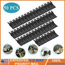 50 Pcs 35mm Oscillating Multi Tool Saw Blades Carbon Steel Cutter Diy Universal