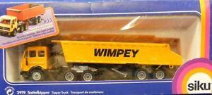 Siku-2919-4-Mercedes-Benz-Semi-Truck-w-Dump-WIMPEY-W-Germany-1-55-MIB