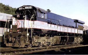 Erie-Lackawanna-U34CH-diesel-locomotive-train-railroad-postcard