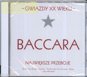 BACCARA-GREATEST-HITS-gwiazdy-xx-wieku-CD-POLISH-EDITION-RARE