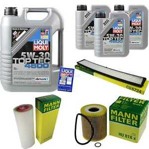 Inspection-Kit-Filter-Liqui-Moly-Can-Oil-8L-5W-30-for-BMW-3er-Touring-E46