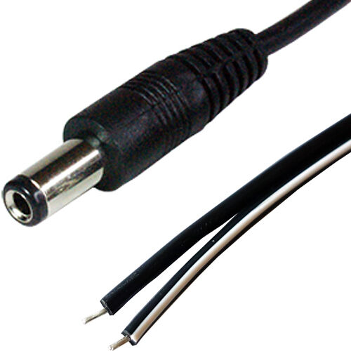 10x DC Power 2.1 mm female socket Fly Lead Câble Connecteur Jack CCTV Caméra