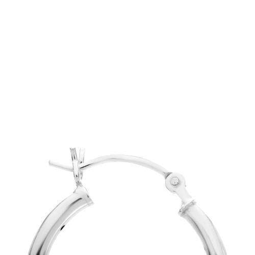 Real plata esterlina sólida Diamante Corte Criollo Aro Pendientes Joyería Accesorio