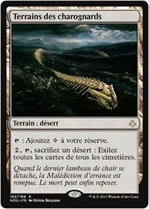 MTG-Magic-HOU-Scavenger-Grounds-Terrains-des-charognards-French-VF