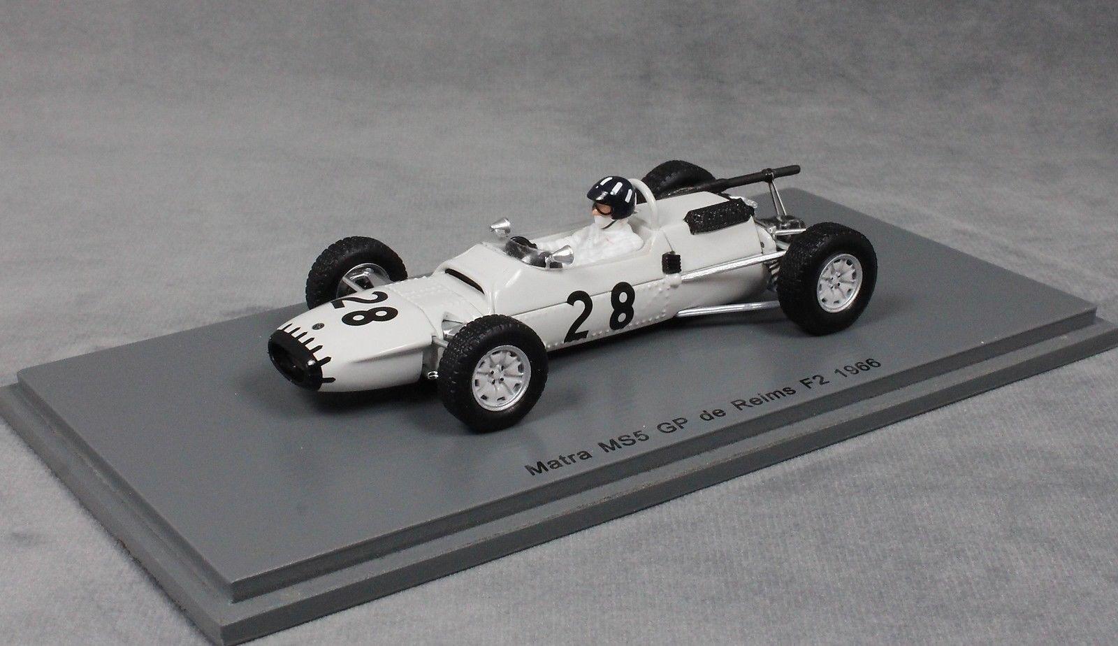 SPARK MATRA MS5 F2 REIMS REIMS REIMS GRAND PRIX 1966 Graham Hill S5411  NUOVO cefa45