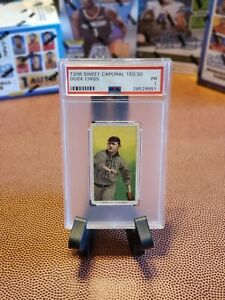 T206 Sweet Caporal Card Dode Criss PSA