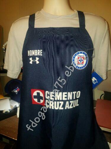 MANDIL GENERICO MAQUINA CRUZ AZUL100/% POLYESTER AZUL NOMBRE INCLUIDO GRATIS!