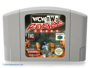 N64/Nintendo 64 juego-WCW vs nWo Revenge módulo