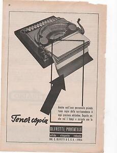 Pubblicita-epoca-1923-OLIVETTI-MACCHINA-SCRIVERE-advert-werbung-publicite-reklam