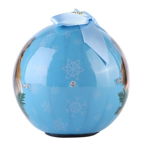 Battery Operated Twinkle Light Christmas Ball Ornaments Xmas Tree Hanging Decor