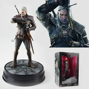 The-Witcher-Wild-Hunt-3-PVC-9-5-034-Action-Figure-Geralt-of-Rivia-Collector-Edition