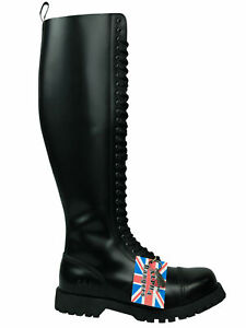 Weiß  5041 Alpha Ranger Springerstiefel 10-Loch Boot Rangers Stiefel Schwarz