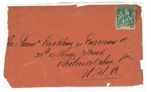 Martinique-SC-36-Partial-Cover-Pasted-to-Album-Page-Lot-101517