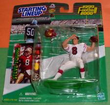 1999 STEVE YOUNG San Francisco 49ers updated uniform -low s/h- Starting Lineup