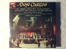 HERBERT VON KARAJAN Verdi: Don Carlos 3mc cassette k7 RARE SIGILLATE SEALED!!!