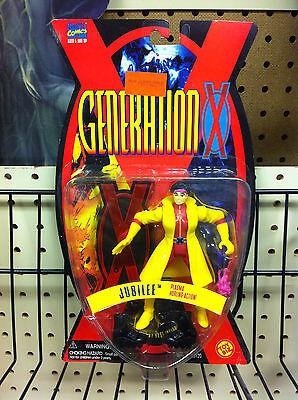 ToyBiz Marvel Comics Generation X JUBILEE Plasma Hurling Action 1995 NIP