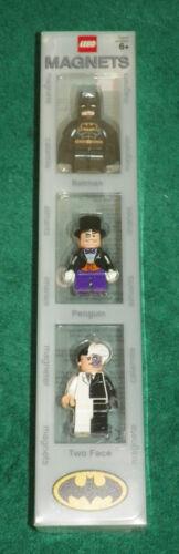 3 BATMAN MINI FIGURES MINI FIGURE MAGNET COLLECTION LEGO BATMAN