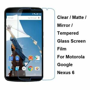 Tempered-Glass-Clear-Matte-Mirror-Screen-Protector-For-Motorola-Google-Nexus-6