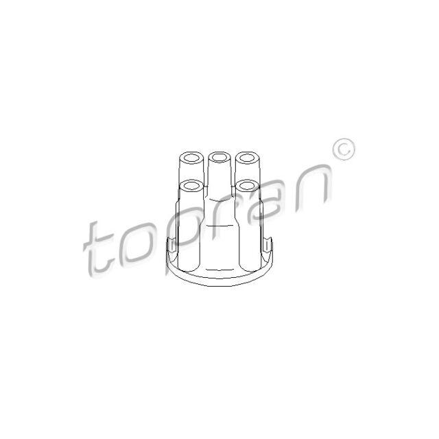 TOPRAN Distributor Cap 100 242