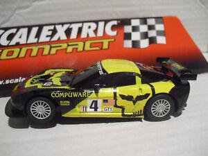 Compact Corvette C6r Nuevo 1/43 Scalextrc (tecnitoys) Nuevo Lote 107