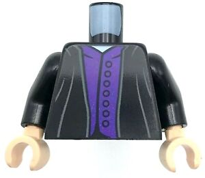 LEGO Minifig Suit Torso with Purple Neckerchief