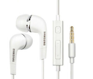 Original-Samsung-Dans-Ear-Stereo-Casque-ehs64-Casque-En-Blanc-Galaxy-s6-s7-Edge