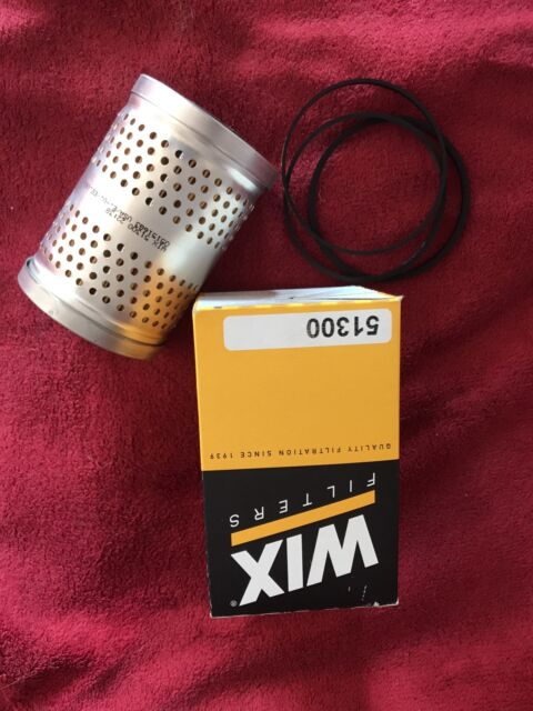 Wix 51300 Cartridge Metal Canister Lube Filter Pack of 1