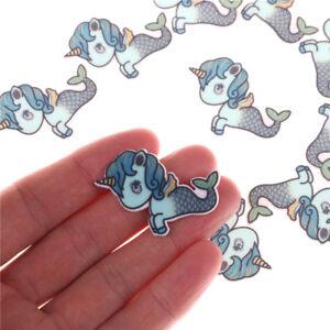 10-x-unicornio-resinas-pelo-bricolaje-accesorios-planar-decoracion-del-telefono