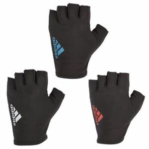 Adidas Essential Gloves Size Medium Large X Large Black / Red New Gym Fitness Nachfrage üBer Dem Angebot