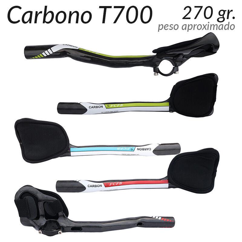Acoples para  Manillar TT Triatlon de Carbono Alta Resistencia T700 Ligeros 270gr  at the lowest price