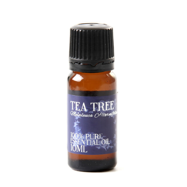 Mystic Moments | Tea Tree Essential Oil - 100% Pure - 10ml (EO10TEATREE)