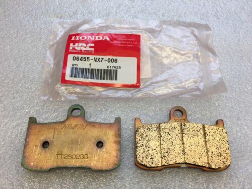 Honda RS125 2004 / Moto3 NSF250R 2012  Front Brake Pads 06455-NX7-006