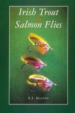 MALONE TED FLYFISHING & FLY TYING BOOK IRISH TROUT & SALMON FLIES paperback new