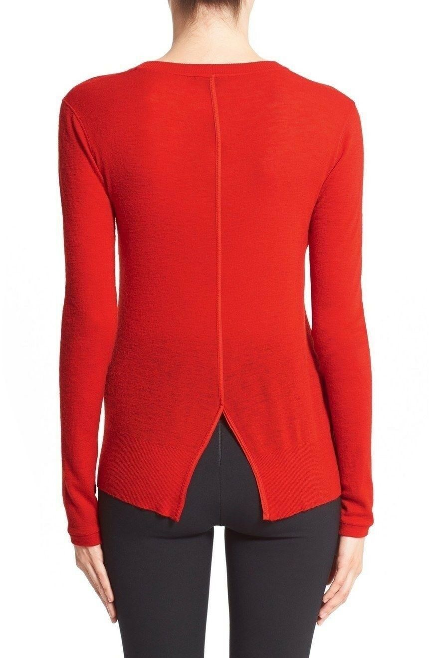 Rag & bone bone bone Elise Wool Blend Red Sweater NWT XXS XS S L f7fca8
