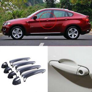 Carbon Fiber Exterior Door Handle Cover For BMW X6 M E71 w/ Intelligent Key