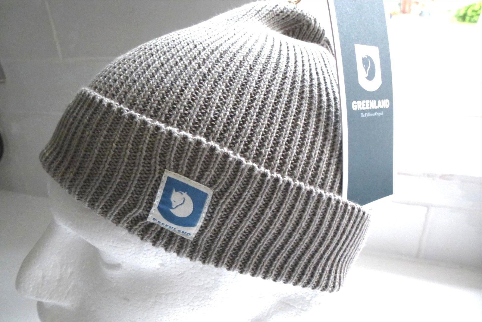 Fjtuttiraven Svezia grigio cotone Groenleia Cappello Beanie del mouominito polsino Nebbia Unisex nuovo