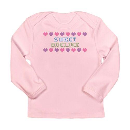 CafePress Sweet ADELINE Long Sleeve Infant T Shirt Baby Bodysuit 585760265
