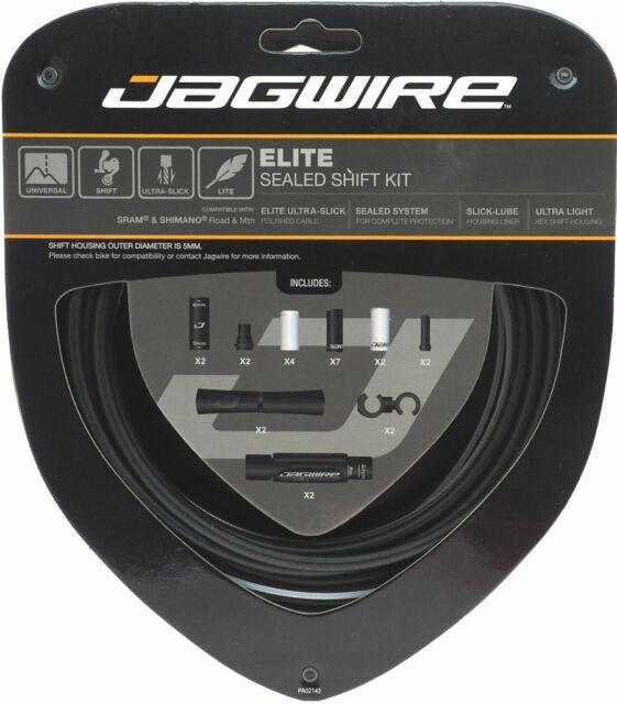 PCK501 Jagwire Pro Shift Kit Road//Mountain SRAM//Shimano Ice Gray