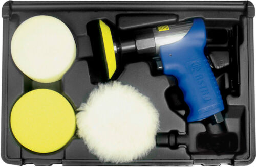 "3055 with polishing Pads Astro Pneumatic Polisher  3/"" Air Polishing Kit"