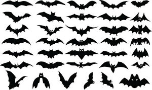 image is loading halloween bat silhouette mega multi pack vinyl stickers