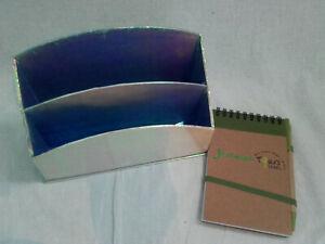 porte papier boîte courrier rangement violet