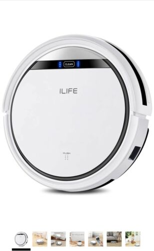 ILIFE V3s Pro Robot Vacuum Cleaner Hoover Sweep Used