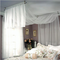 Studio Ceiling Mount Curtain Rod Set Free Shipping