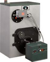 Peerless WBV-04-WPCL Oil Boiler w/Beckett AFG Burner no coil