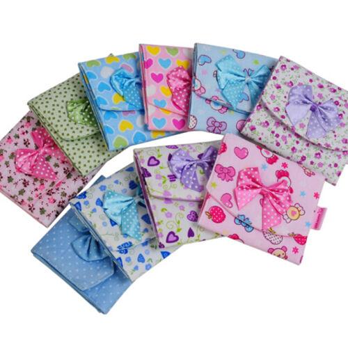 Women Girl Tie Sanitary Napkin Towel Pad Small Bag Purse Hold Organizer Best UK
