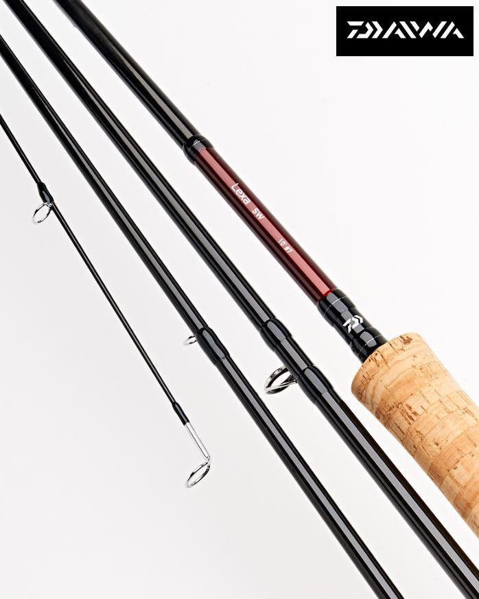 Nuevo Daiwa Lexa Trucha varillas de pesca con mosca-todos los modelos tamaños
