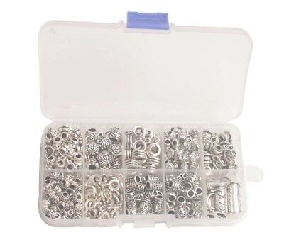 60PCS Silver Golden Bronze Metal Glue on Bail Charms for Jewelry Making