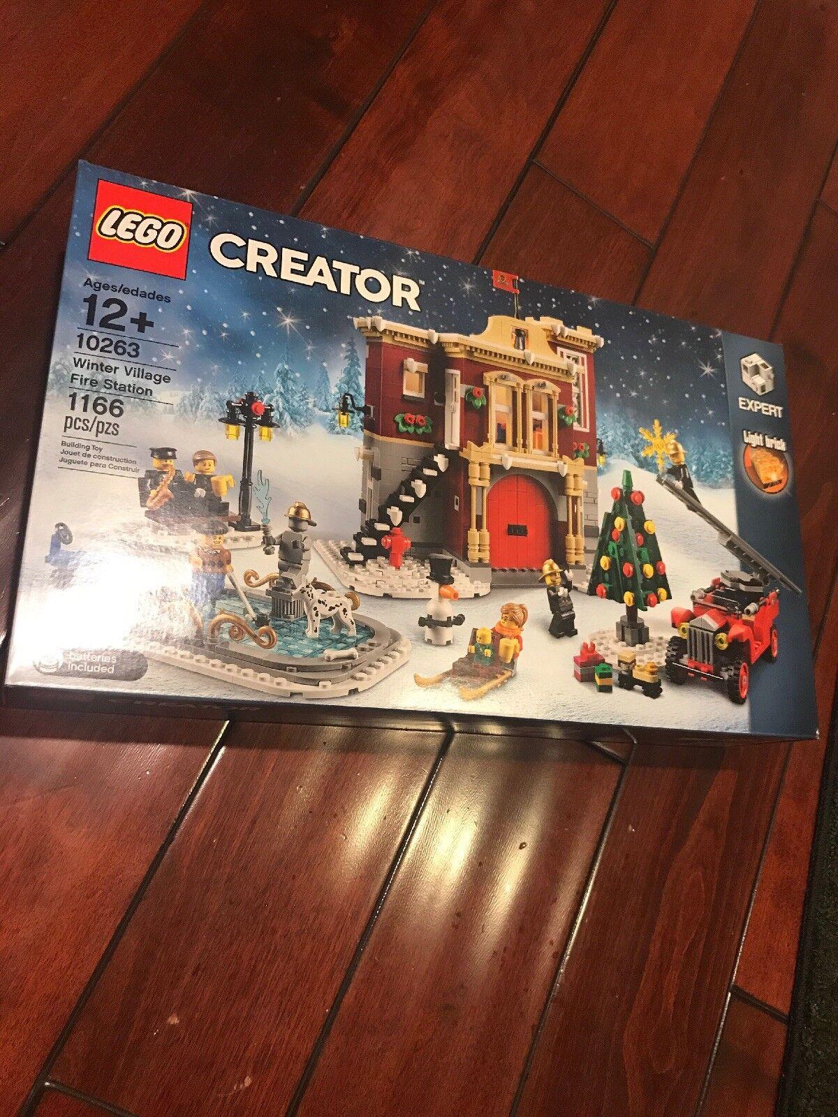 Lego creator expert 10263 fuego de Aldea de Invierno (1,166 Piezas) Nuevo Sellado