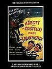 Abbott and Costello Meet Frankenstein : The Original Shooting Script Vol. 1 by Philip J. Riley and Gregory W. Mank (1994, Paperback)